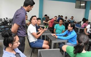 En esta ocasión el experto se dirigió a estudiantes de la carrera Enseñanza de la Matemática con Entornos Tecnológicos del Tecnológico de Costa Rica (TEC).