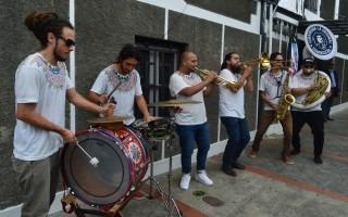 La cimarrona no podía ausentarse del Festival Amón Cultural (Foto: Fernando Montero)