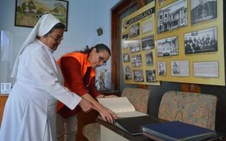 La Capilla Santa Margarita también participó en el Festival Amón Cultural con una exposición de fotografías históricas (Foto: Fernando Montero)