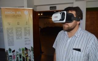 La Escuela de Arquitectura y Urbanismo del TEC expuso sus proyectos de realidad virtual y realidad aumentada para Barrio Amón (Foto: Fernando Montero)
