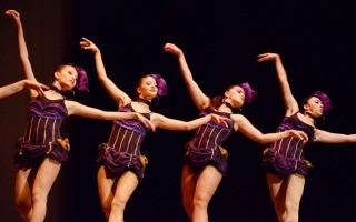 El grupo de danza de la Sede de Occidente de la UCR amenizó la premiación, realizada en el Teatro Melico Salazar en San José.