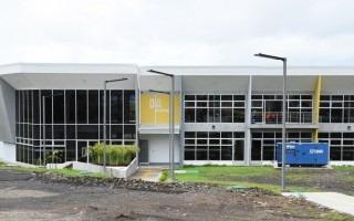 Vista del nuevo edificio de Diseño Industrial. Foto: Ruth Garita/OCM.