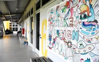 La creatividad es parte de las innovaciones que trae el edificio. Foto: Ruth Garita/OCM.