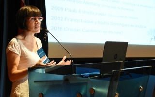 La doctora hispano-argentina Laura Alonso representó a la Universidad Nacional de Córdoba en Jocici.