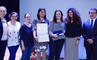 Los miembros del Programa de Equidad de Género del TEC recibieron un reconocimiento.