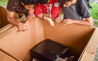 La recolección de residuos electrónicos ayuda a que estos materiales sean dispuestos de manera correcta. Foto: Andrés Zúñiga/OCM.