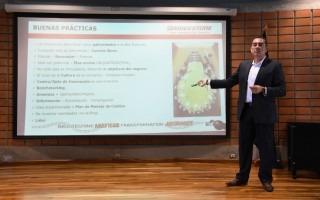 Jorge Navarro de la empresa Bridgestone. (Foto: Ruth Garita/OCM)