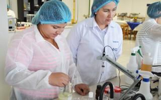 Ingenieros especialistas del TEC dan acompañamiento durante las distintas actividades de laboratorio. (Foto Kenneth Mora/OCM)