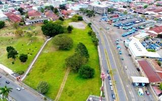 Lote de 1.800 m2 que la Municipalidad tiene a disposición para construir Ciudad Tecnológica. Cortesía Municipalidad de San José.