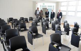 Visita a las nuevas aulas del TEC. (Foto: Ruth Garita / OCM).