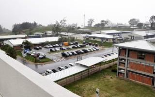 Vista desde el nuevo edificio: Núcleo Integrado de Tecnología de Información y Comunicación (Foto: OCM / Irina Grajales)