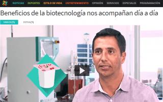 El TEC realiza constantemente investigaciones en el campo de la biotecnología. (Captura de página web de Teletica)