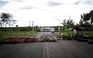 bloqueo de carretera