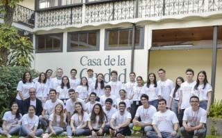 imagen de los estudiantes del capitulo estudiantil de química