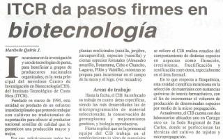 Centro de Investigación en Biotecnología (CIB)