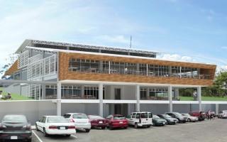 Así lucirá el nuevo comedor del TEC, una moderna infraestructura con iluminación y ventilación natural. (Imagen: Cortesía PMI)