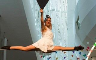 """Como parte del espectáculo, Paula Quintas interpretará su acto titulado: """"Solo en alambre"""". (Foto cortesía Centro de las Artes)"""