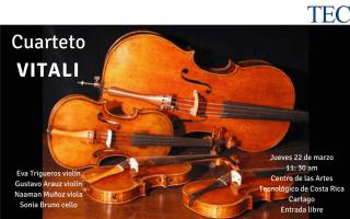 Imagen de cuatro violines  juntos, en el suelo.