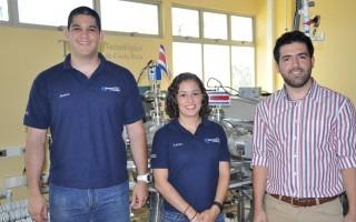 """Los ingenieros: Jaime Mora, Laura Barillas y José Asenjo representarán al TEC en el """"TEDxPuraVida Joven"""". (Foto OCM)"""