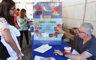 Con prevención y deporte, se celebró su Feria de la Salud