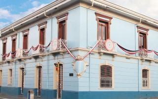 imagen de la casa de la ciudad en cartago