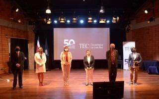candidatos electos y suplentes del CI en el Centro de las Artes