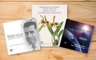 imagen de la portada de tres libros.