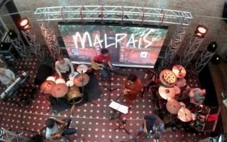 Grupo Malpaís en Amón Solar.