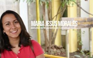 María Jesús Morales sonriendo.