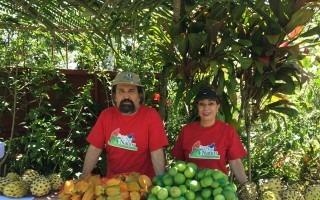 Los exfuncionarios Juan Fernando Álvarez y Grace Bonilla trabajan en su propio negocio llamado Finca Los Ñaños, ubicado en Tucurrique. (Foto cortesía de Grace Bonilla)