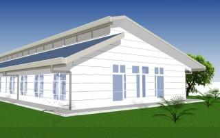 Así se verá el nuevo edificio de la Fundatec. (Imagen: Oficina de Ingeniería del TEC)