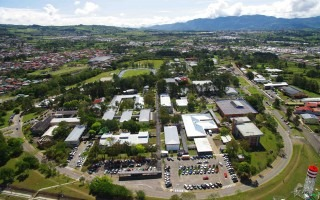 Vista aérea del Campus TECen Cartago