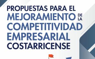 Portada del libro: Propuestas para el mejoramiento de la competitividad empresarial costarricense