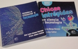 imágenes de las portadas de los libros de las científicas