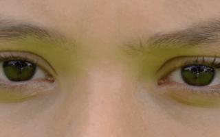 ojos de una persona