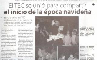 Copia de la noticia del periódico InformaTEC.