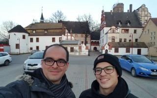 El profedor Isaac Céspedes y el estudiante Raúl Garita participaron en curso de Resonancia Magnética Nuclear, en Alemania.