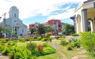 El parque Jhon F. Kennedy así como la iglesia de San Pedro de Montes Oca.