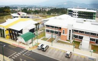 Imagen área de edificios nuevos del Campus Central del TEC