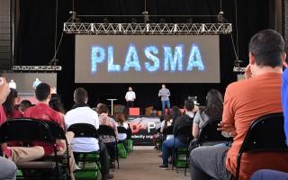 Jaime Mora y José Asenjo fueron dos de los expositores que estuvieron en la edición del Tedx Pura Vida Joven (Fotografía: Ruth Garita/OCM)