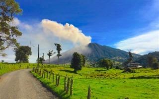 Fotografía del Volcán Turrialba