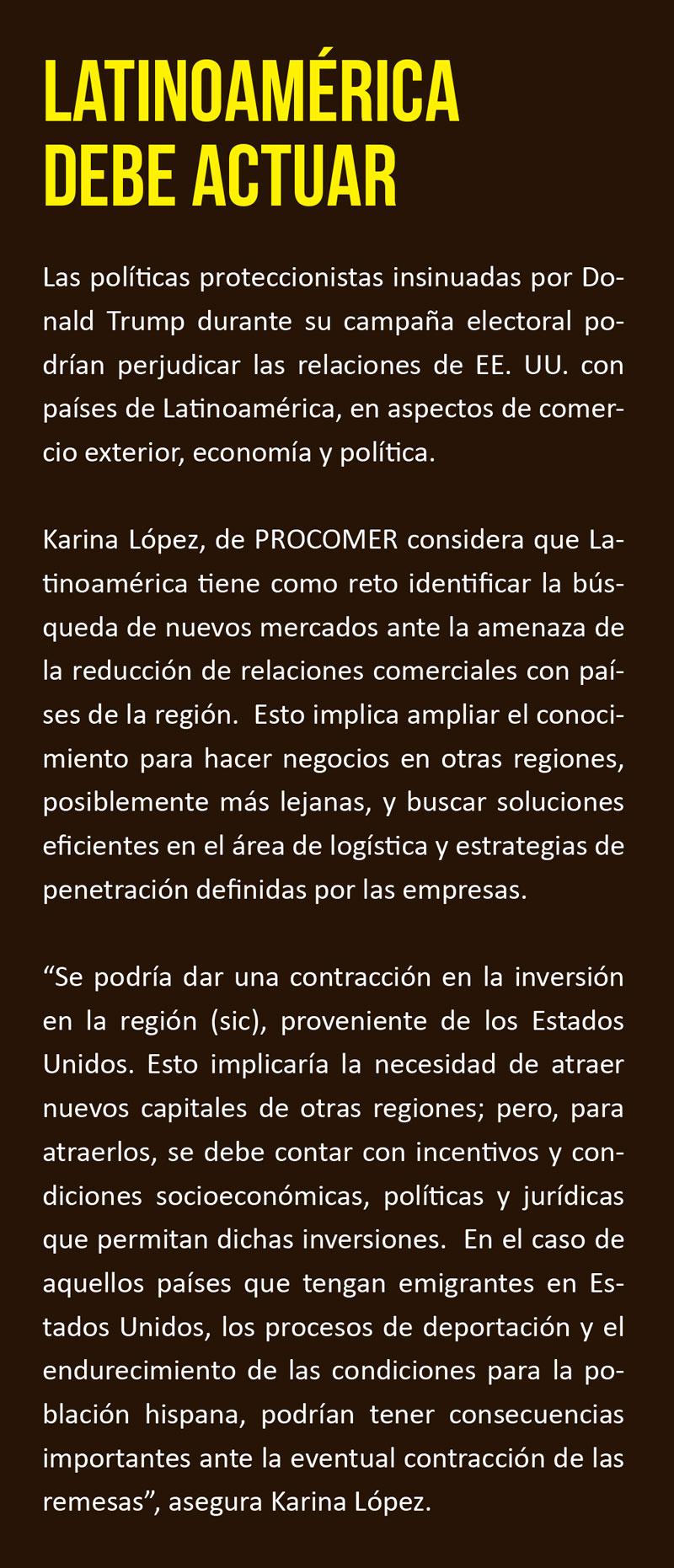Latinoamérica debe actuar