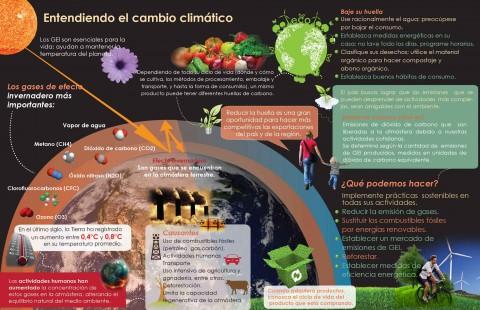 Infografía, Entendiendo el cambio climático