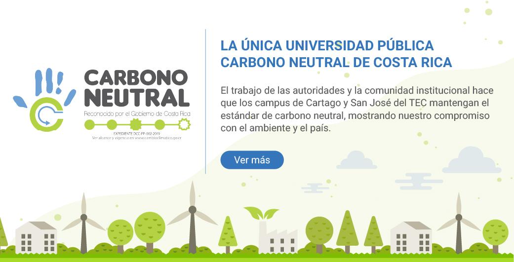 carbono neutralidad campus cartago