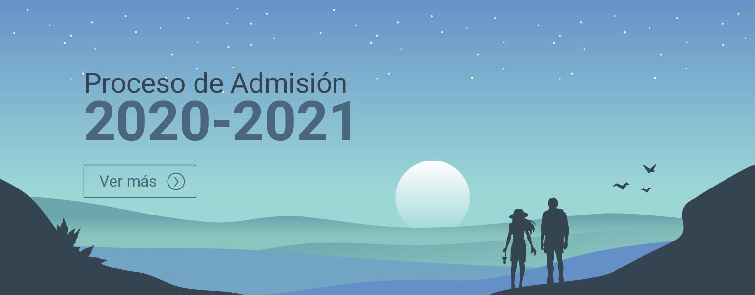 banner proceso admisión 2020-2021