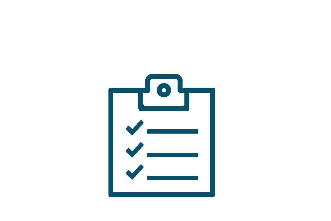 Lista de verificación, gestión institucional
