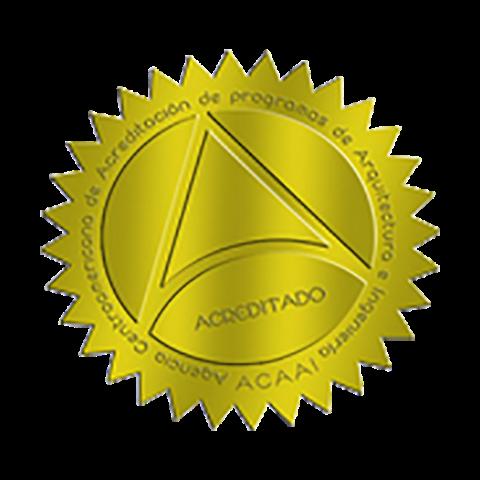 Carrera acreditada por: Agencia Centroamericana de Acreditación de Programas de Arquitectura y de Ingeniería (ACAAI)