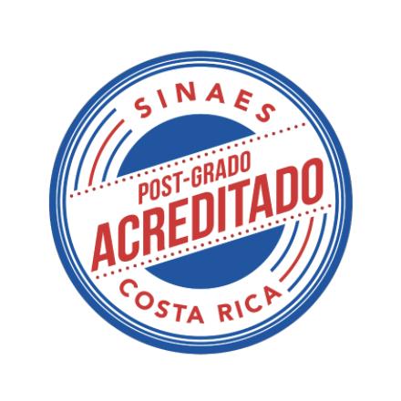 Posgrado acreditado por: Sistema Nacional de Acreditación de la Educación Superior (SINAES)