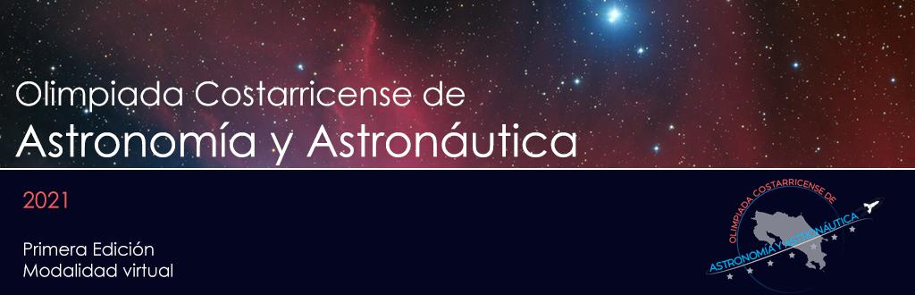 primera edición virtual Olimpiada Costarricense de Astronmía y Astronáutica
