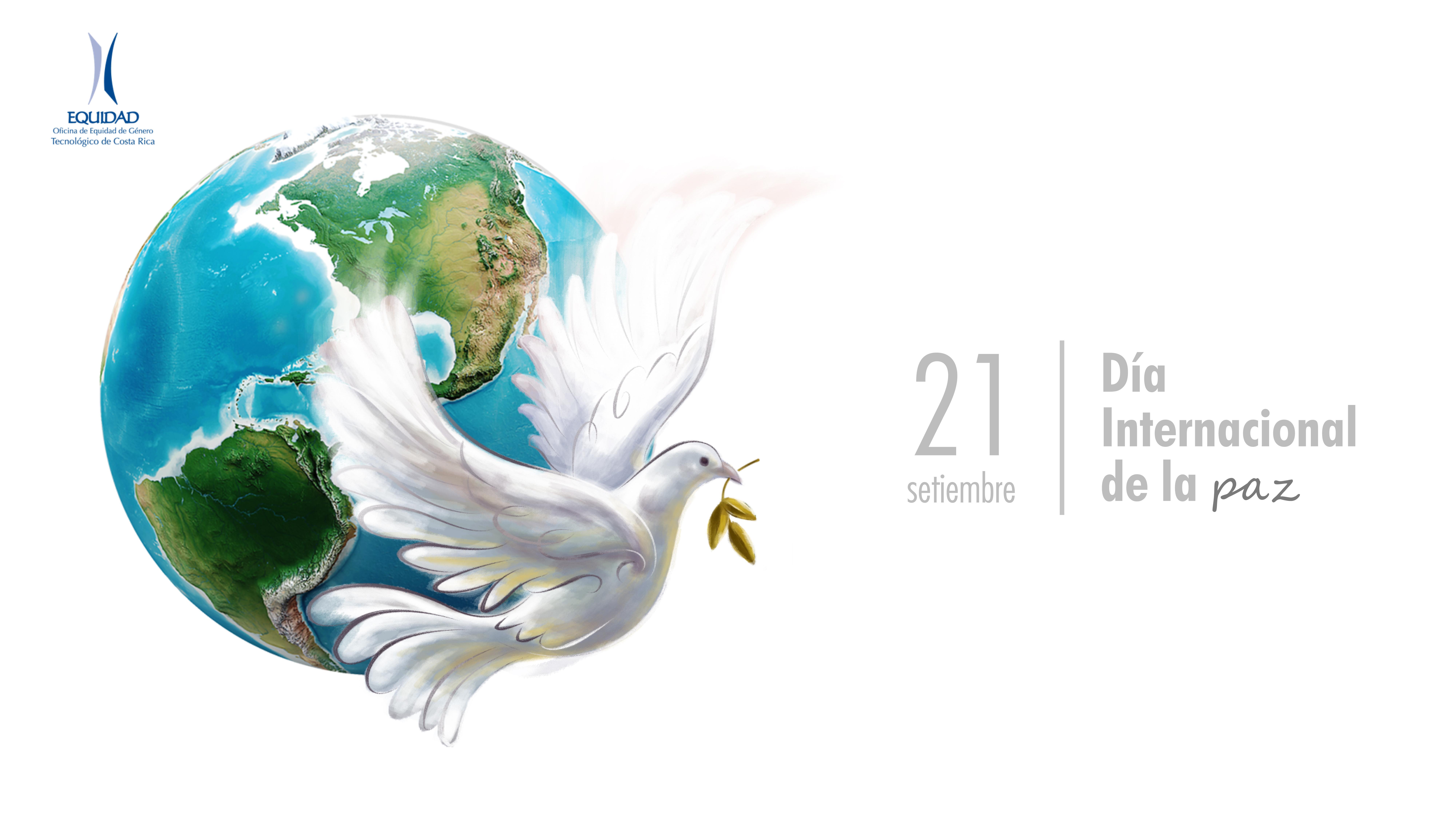 """""""Banner 21 setiembre: Día Internacional de la Paz."""""""